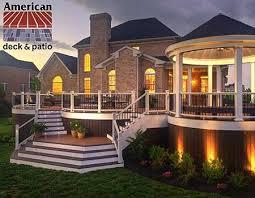 american deck inc custom deck builders sunrooms patios trex composite