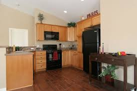 Kitchen Floors With Cherry Cabinets Download Oak Cabinets With Dark Wood Floors Gen4congress Com