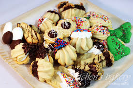 authentic professional bakery style italian butter spritz cookies