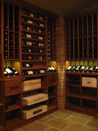 built in vigilant cigar cabinet in a wine cellar cigar storage