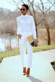 all white casual totally style i think this is what i was daydreaming of
