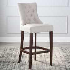 morgana tufted bar stool hayneedle