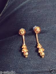 latkan earrings one gram gold plated earrings latkan earrings ebay mobile