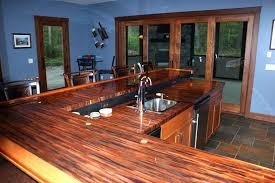 bar top sealant copper countertop