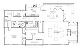 madson design house plans gallery american homestead revisited back right elevation in b w first floor plan