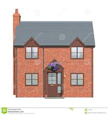 house front elevation stock image image 1778621