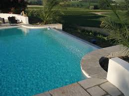 infinity pools have become gunite inflatable enclosures semi pool