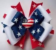 fourth of july hair bows 147 best z fourth of july bow images on hair bows