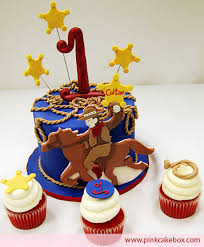 cowboy cake toppers cowboy cupcakes and topper childrens cakes