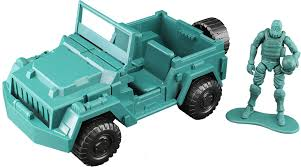 barbie jeep 2000 acid rain green jeep and sol commander toynami green jeep and