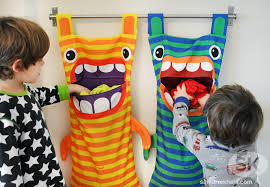 cute laundry bags diy hungry monster laundry bag cute kids finds