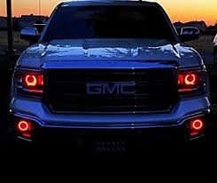 led lights for 2014 gmc sierra 2014 15 gmc sierra led concepts halos circle