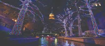 san antonio riverwalk christmas lights 2017 winter in the city the paisano