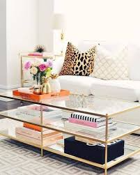 coffee table marble top coffee table gold metal and glass coffee