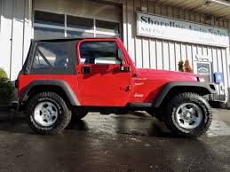 red jeep liberty 2005 shoreline auto sales over 60 jeeps in stock daily