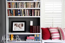 diy built in bookshelves maison de pax