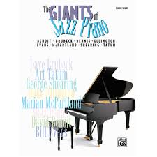 the giants of jazz piano for advanced piano tom