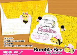 bumble bee party collection
