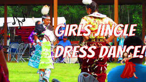 girls pow wow jingle dress dance contest youtube