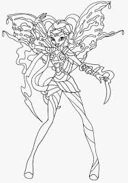 coloring download winx club coloring pages bloomix winx club