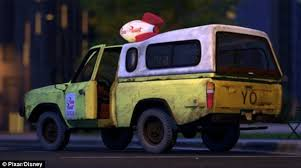toy story u0027s pizza planet delivery truck appears