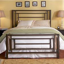 sunset highrise frame iron bed by wesley allen humble abode