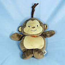 carters child of mine monkey brown musical crib toy brahms lullaby