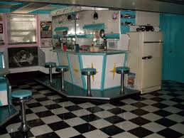 1950s diner decor home design ideas