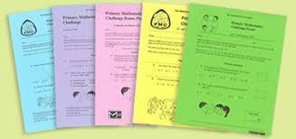Challenge Uk Primary Maths Challenge Primary Mathematics Challenge