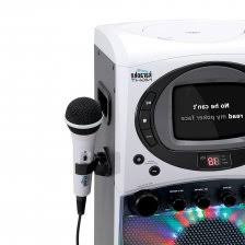 singing machine with disco lights amazon com singing machine stvg785btw bluetooth karaoke machine