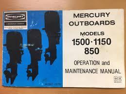 1978 mercury 850 xs