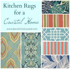 Aqua Kitchen Rug Be Colorful Coastal Kitchen Rugs To Up An All White Kitchen