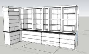 ikea shelf with lip not built in ikea cabinets ikea hackers ikea hackers