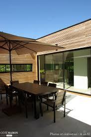 interieur maison bois contemporaine maison bois contemporaine cap ferret a un fil côté maison