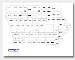 state of iowa map printable iowa maps state outline county cities