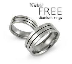 nickel free jewelry nickel free rings nickel allergy free titanium rings jewelry