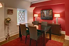 dining room red wall decor blueskyfarms provisions dining