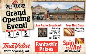 Radio Bob Fm Spokane North Grand Opening Event Country Store Farm Pet Home