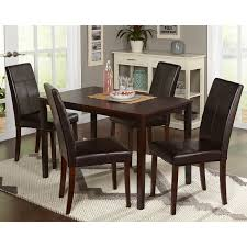 How Tall Is A Dining Room Table Boraam Farmhouse 5 Piece Tile Top Rectangular Dining Set Hayneedle
