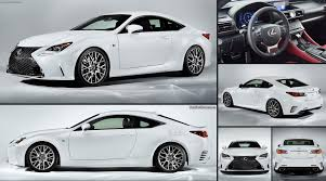 lexus sport tuned suspension lexus rc f sport 2015 pictures information u0026 specs