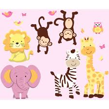 tree wall decals with zebra wall stickers for girls jungle tree wall decals with zebra wall stickers for girls
