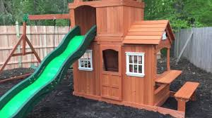backyard discovery shenandoah playset review u0026 install youtube