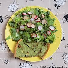 cuisiner les fanes de radis quiche aux fanes de radis et lardons marmotte cuisine