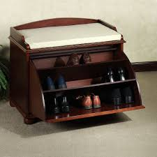 Hallway Shoe Cabinet by Entry Bench With Shoe Storage Units Entry Bench With Shoe