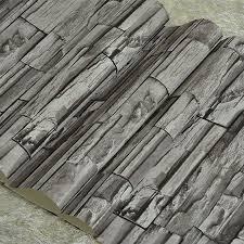 Wohnzimmer Tapeten Design Online Kaufen Großhandel Tapete Stein Design Aus China Tapete