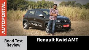 renault kwid easy r amt test drive review autoportal youtube