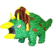 dinosaur pinata aztec imports triceratops dinosaur piñata toys