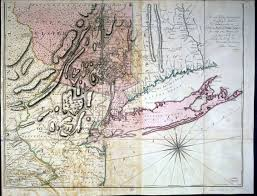 Map Of New England Colonies by 1