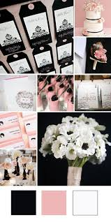 black and white wedding 25 chic blush and black wedding ideas hi miss puff