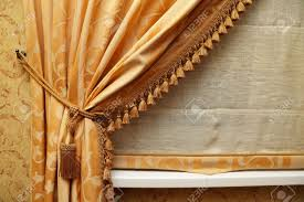 Double Swag Shower Curtain With Valance Fancy Window Valances Bathroom Curtains With Valance Hookless